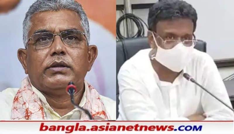 TMC leader Firhad Hakim attacks to Sukanta Majumder  Priyanka Tibrewal on BJP Leader Manas Saha Death Case  issue RTB