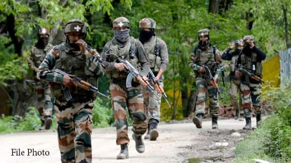 Jammu-Kashmir: Two unidentified terrorists eliminated in encounter with security forces in Shok Baba forest-dnm