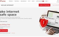 <p>Airtel XStream Fibre launches Secure Internet service</p>