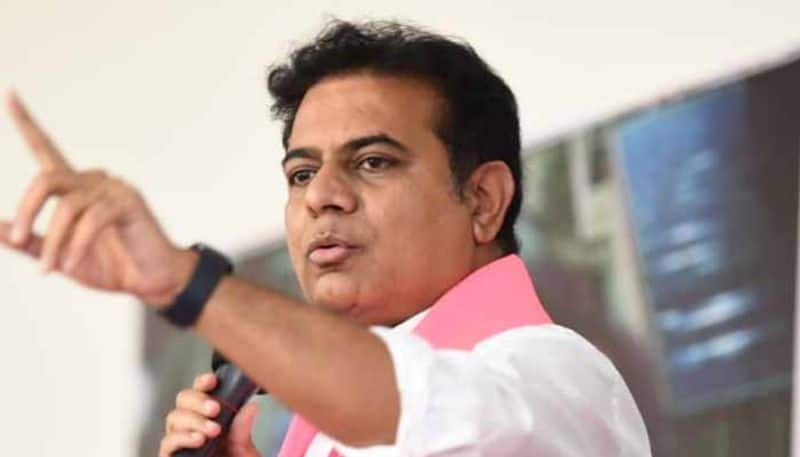 DMK mps meeting with Telangana minister KTR