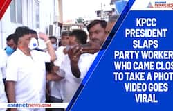 KPCC president slaps party workers who came close to take a photo, video goes viral