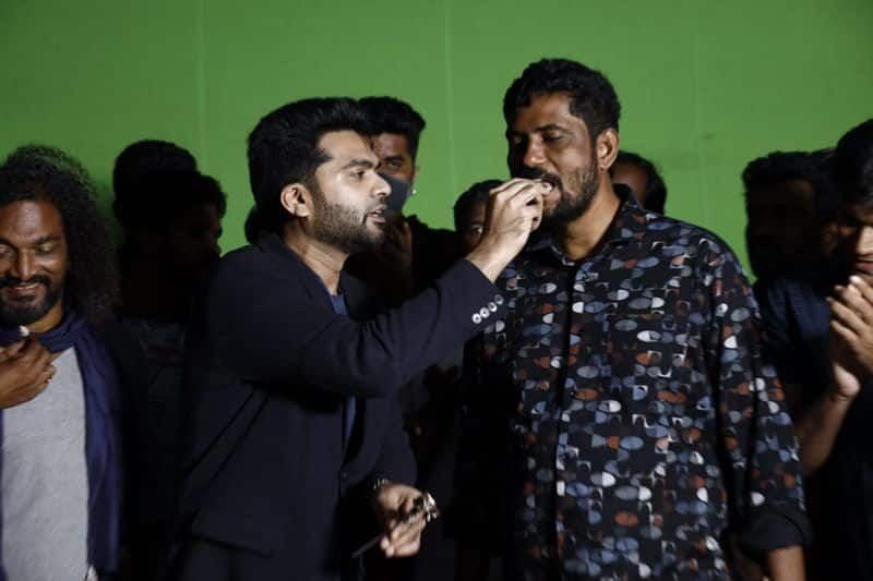 actor simbu in manadu trailer released