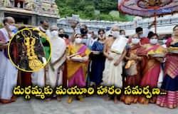 Ashada Masa sare mahostav...Vaidik Committee offers mayuri haram to goddess Durga akp