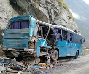 Pakistan blast 6 Chinese nationals among 10 killed in bus blast bsm