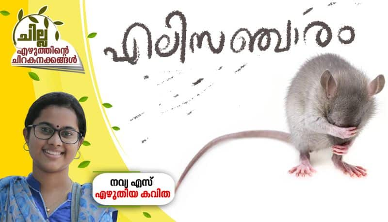 chilla malayalam poem by Navya S