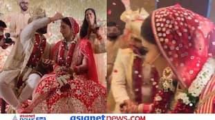 जब राहुल वैद्य ने भरी दिशा की मांग, देखें सिंदूर से लेकर 7 फेरों तक शादी की रस्मों का वीडियो