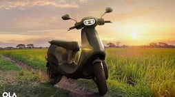 <p>Ola electric scooter</p>