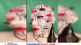 कभी देखी है 4 आंख और 5 होंठों वाली लड़की? चेहरे पर ढूंढते रह जाओगे नाक कान और मुंह, देखें गजब Video