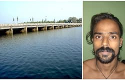 <p>theft case accused jumps from thottappally spillway</p>