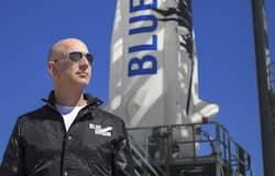 <p>amazon founder jeff bezos and crew to space on tuesday</p>