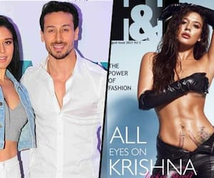 Tiger Shroff's sister Krishna Shroff goes topless; unzips her pants to flaunt her tattoo; take a look RCB