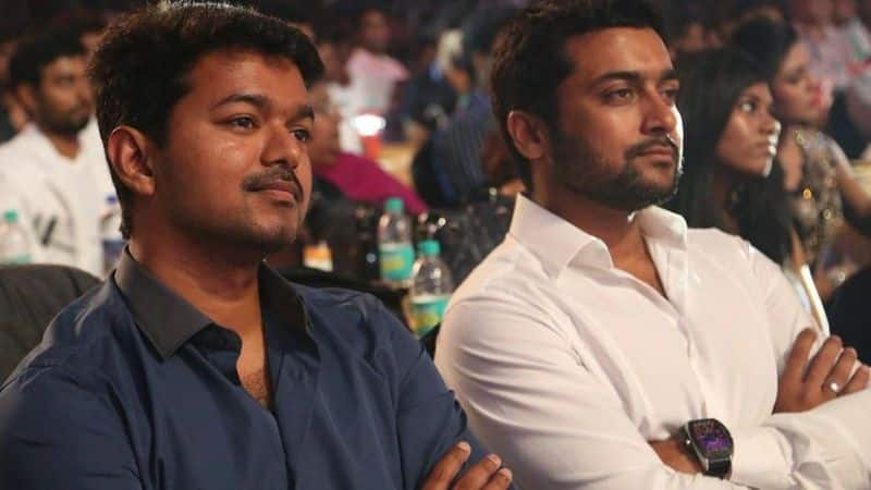 During the colleage days Suriya neck named as bigil