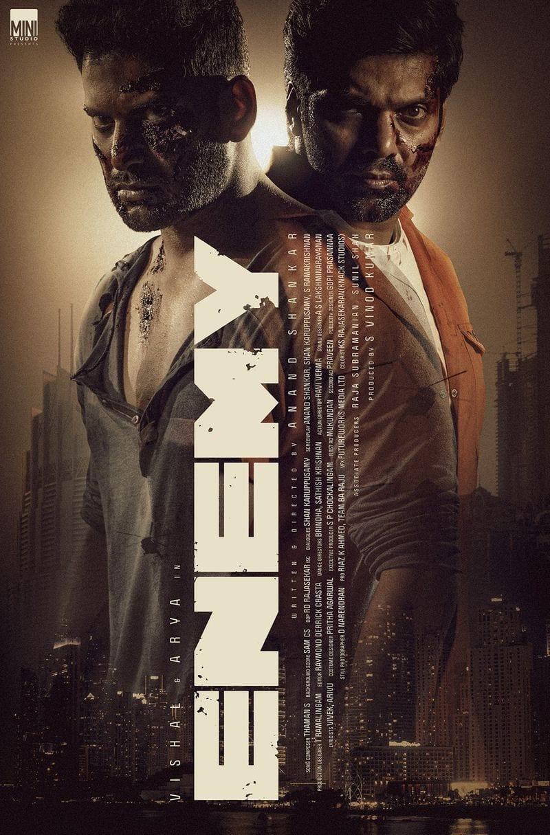 arya and vishal enemy movie release date aanounced