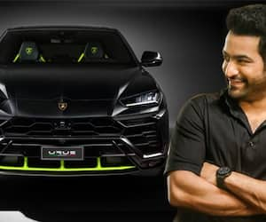 crazy buzz is ntr grabs new Lamborghini car ksr