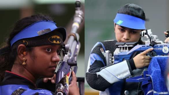 Apurvi Chandela, Elavenil Valarivan fail to qualify for final of 10m air rifle shooting in tokyo olympics 2020 spb