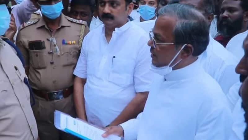Hindu makkal Party Demand grain to maariyaman fest.. like  free rice for ramjan.