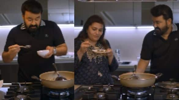 Mohanlal cooking video out