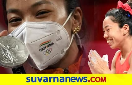 Mirabai Chanu wore Olympic rings-shaped earrings gifted by mother at Tokyo Olympics dpl
