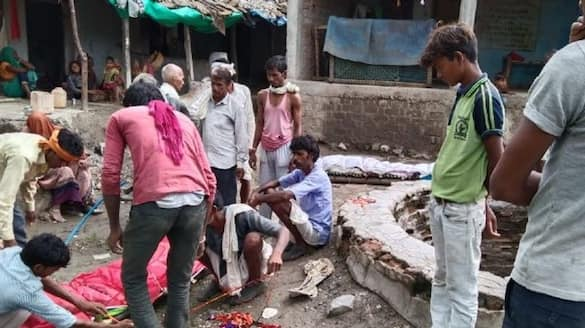 madhya pradesh news nine people died of the same family  died due to lpg cylinder explosion  in ahmedabad kpr