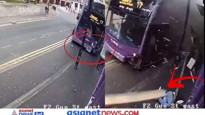 High speed bus hit the young man, see shocking video KPZ
