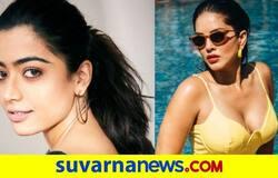 <p>Sunny leone Rashmika Mandanna</p>