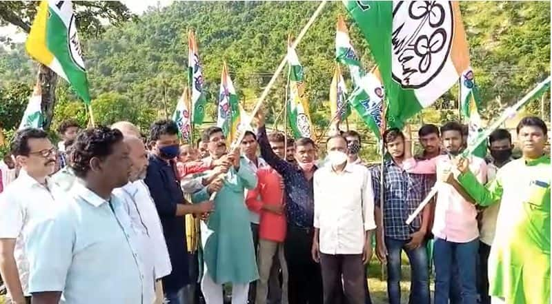 Ten thousands ISF workers Joined Trinamool Congress in South 24 Parganas bpsb