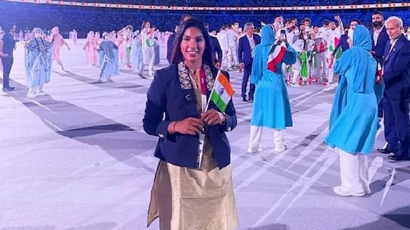 Bhavani Devi wins Indias 1st ever fencing match in Olympics history  bpsb