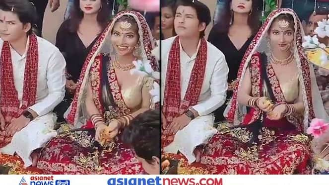 A video of the wedding is going viral on social media KPZ