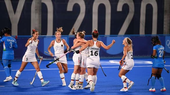 India lost to Germany in Women's hockey