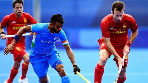 India won over Spain in men's hockey