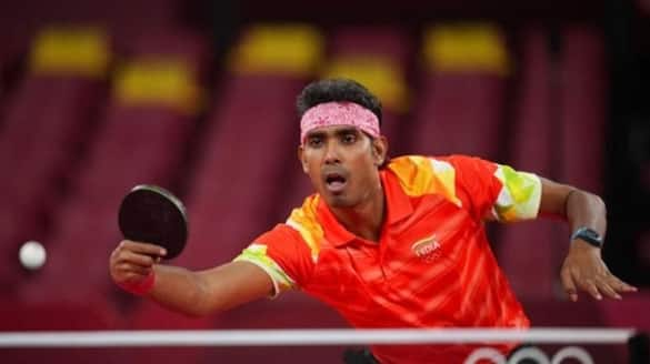Sharat Kamal crashed out from Olympic Table Tennis