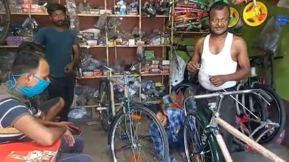 cycle business increased due to petrol price hike in Raiganj bmm