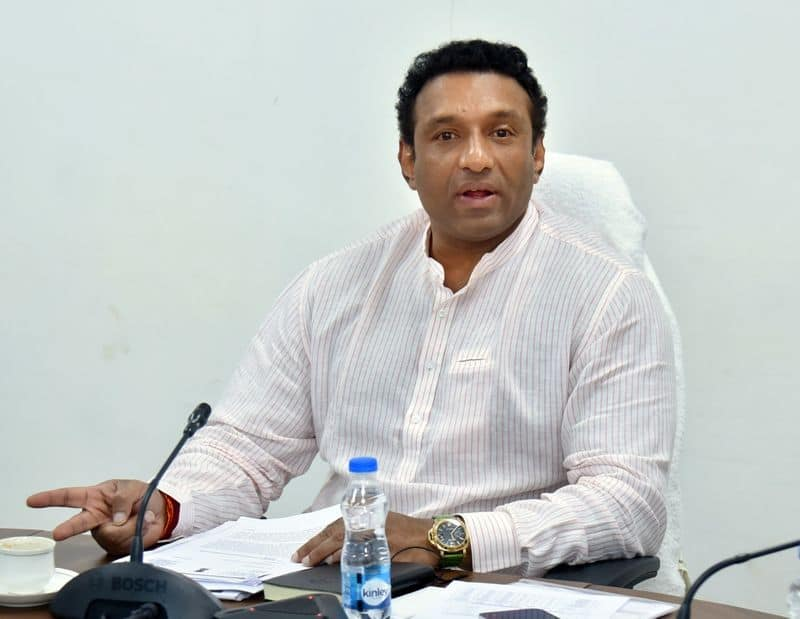 minister mekapati goutham reddy review meeting on industrial department akp