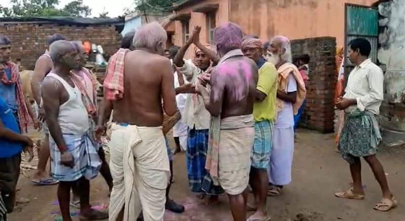 relatives played dj at last rites of old woman in maldah bmm