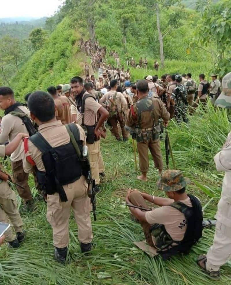 Assam Mizoram police clash reason behind enmity