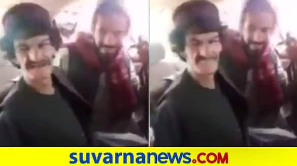 Taliban militant slaps comedian in video before tying him to tree & slitting his throat dpl