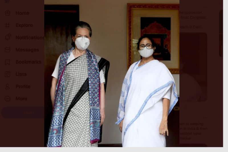 Kanimozhi who suddenly met Mamata in Delhi... Team mobilization against Modi government