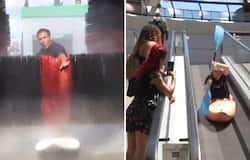French YouTuber recreates Olympic moves on random people, watch video