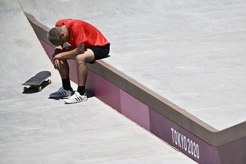Tokyo Olympics 2020 - Peruvian skateboarder's injury video goes viral ALB