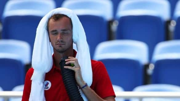 Daniil Medvedev protest against Tennis match schedule in Olympics 2020