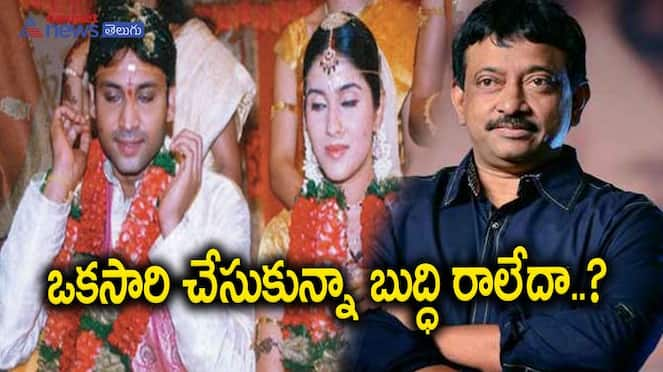 Asianet News Silver Screen: Sumanth Gets Ready For Second Marriage, Ram Gopal Varma makes controversial comments