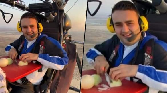Chef chops onions while flying; Video entertains people - gps