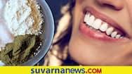 Simple homemade ayurvedic powder for teeth whitening