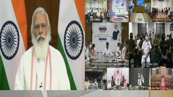 New education policy ready to offer students opportunities and give direction to their dreams says PM Modi ckm