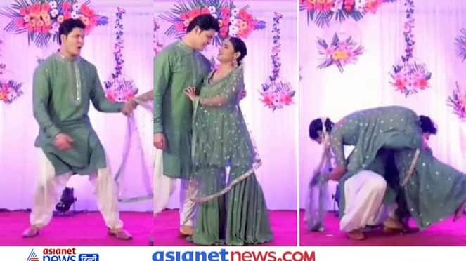 Video of bride and groom's sangeet ceremony is going viral on social media KPZ