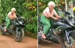Old lady riding a bike sets internet on fire; watch the video