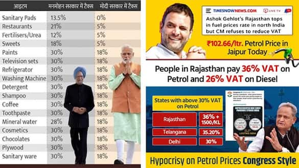 Rahul Gandhi tweet about inflation in India, users counterattack kpa
