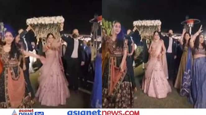 bride entered her wedding like a groom, the video went viral on social media KPZ