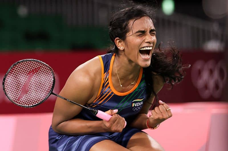 tokyo olympics bronze medal winner pv sindhu hopes to win gold medal in paris olympics says in an asianet news exclusive interview