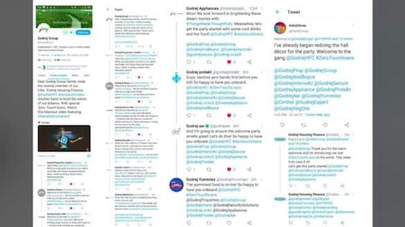 Godrej Group brands give their newest member, Godrej Housing Finance, a grand Twitter welcome-vpn